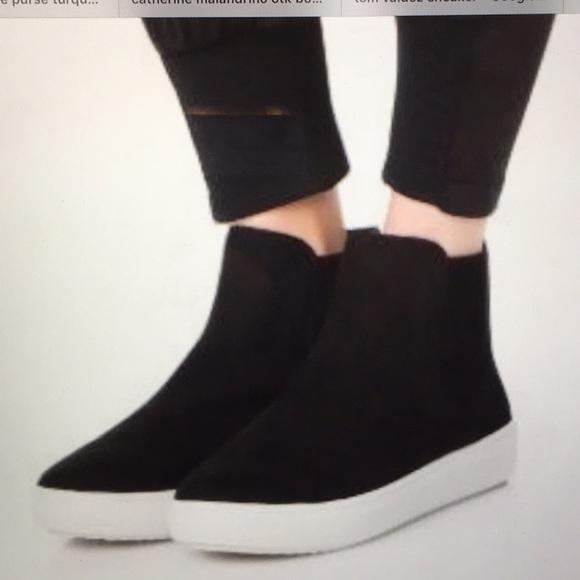 629a377281f0 Steven by Steve Madden Coal Platform Sneaker NWOT.  M 5b391ca103087c1c1aa8f3dc